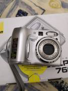 Nikon Coolpix 7600 Fotocamera digitale 7.41 megapixel Argento