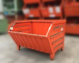 Containers in lamiera a bocca di lupo serie pesante