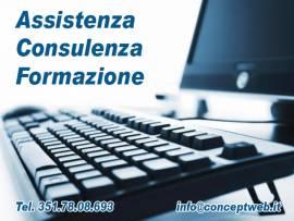 Consulenza e assistenza informatica. Corsi di formazione.