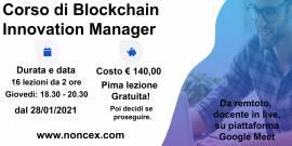 Corso sulla Blockchain in remoto.