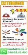 LAMPADARIO A ROMA MONTAGGIO 19 EURO