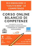 """Corso Online """"Bilancio di Competenze"""""""