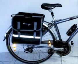 Doppie borse per portapacchi bici