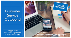 Operatore Contact Center Outbound - Smart working