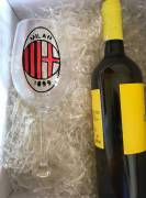 Calice vino Milan
