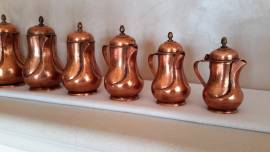 Serie di cuccume da caffè con BAFFO introvabili