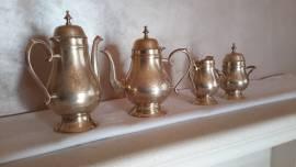 Servizio da te e caffe in Silver Plated