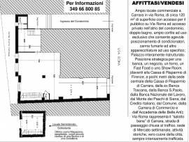 Affittasi / Vendesi Fondo di commercio i Via Roma a Carrara