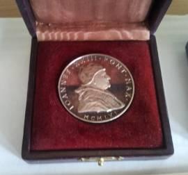 Medaglia argento Papa Giovanni XXIII
