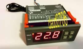 Termoregolatore 220 V.-misura da -50 a 110 Gradi. 1 rele' da 10 Amp a 250 V.