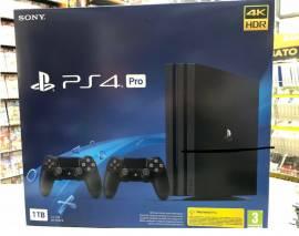 Console PS4 PRO 1TB (Gamma) Chassis Black 4K + 2ndo Dual Shock NUOVA SIGILLATA