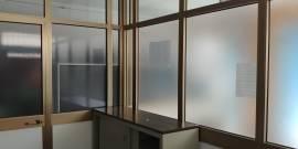 Pareti divisorie in metallo+vetro