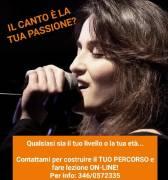 Lezioni di canto online con Caterina Bellosta