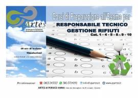 PREPARAZIONE ALL' ESAME DI RESPONSABILE TECNICO GESTIONE RIFIUTI