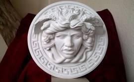 Il mito di Medusa, scultura con diametro di 23 cm