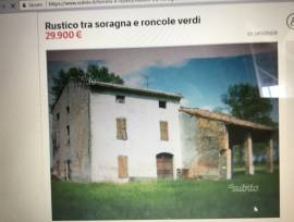 Svendo rustico sito tra Soragna e roncole Verdi ampio lotto terreno 4000 metri quadrati