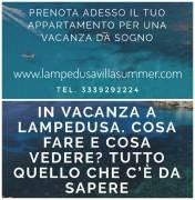 Case vacanza a Lampedusa - Villa Summer Lampedusa - Villetta a Lampedusa in affitto per le vacanze