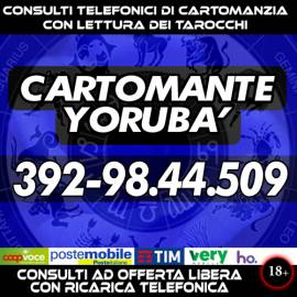 Consultami: nulla è impossibile...basta crederci, il Cartomante Yorubà