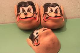 Maschere carnevale cartoni animati vintage anni 70/80 Disney Warner Hanna & Barbera