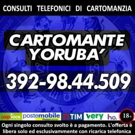 I Tarocchi di Yorubà tutti i giorni dalle ore 9 alle 21, solo consulti di tipo telefonico