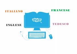 lezioni di INGLESE FRANCESE TEDESCO ITALIANO anche su skype