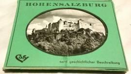 Fortezza di Salisburgo 10 Fotografie b/n in custodia Originale, anni '50-60