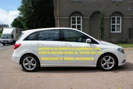 Mercedes-Benz: OFFERTA DI PRESTITO PER TUTTI