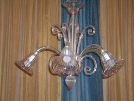 Lampadario vetro di Murano