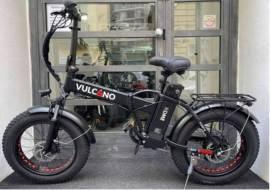 fat bike vulcano 20° 250w disponibile nera o bianca