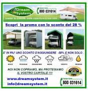 Box copertura  per Camper e auto