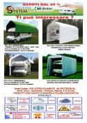 PROMO Copertura per Camper, auto e autolavaggi