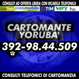 Non avere paura del domani, contatta YORUBA' per conoscere il tuo futuro