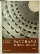 Panorama di storia dell'arte vol.1 di De Simoni e Maccone Ed.Bonacci,1981 perfetto