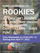 12 lezioni d'Inglese a €60!