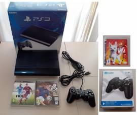 CONSOLLE PS3 SUPER SLIM 320 GB (BOXATA) + GIOCHI