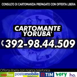 Effettua un consulto a basso costo con Yorubà, Yorubà il Cartomante