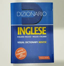 Mini Dizionario Inglese - Vallardi - Nuovo - Con Ebook e Visual Dictionary- 2019