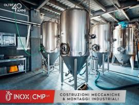 Serbatoio in Acciaio Inox 304 - Tank per Industrie Conserviere e Casearie