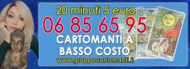 20 MINUTI DI CONSULTO 5 EURO con gruppocartomanti.it   CHIAMA LO 06856595