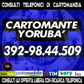 Yorubà il Cartomante mette a tua disposizione ben 30 minuti di tempo per 1 consulto di Cartomanzia