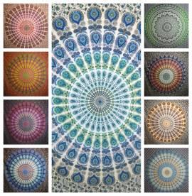 Telo Mare Copritutto Copridivano Copriletto Indiano cotone india mandala