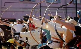 Arcieri medioevali - Vita di campo