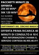 OFFERTA PRIMA RICARICA 40 MIN A 10€