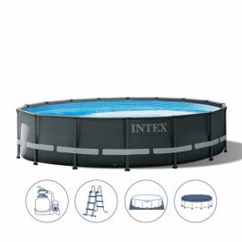 Intex 26326 piscina con telaio Ultra Frame XTR cm 488x122 pompa filtro a sabbia  CODICE PRODOTTO: MX