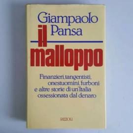 Il Malloppo - Giampaolo Pansa - Rizzoli - 1989