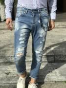 -- OFFERTA STOCK 2021 -- Stock 750pz. jeans uomo firmati CKH seriati (tg. 28-38)