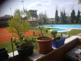 Appartamento 3 camera con piscina e Tennis