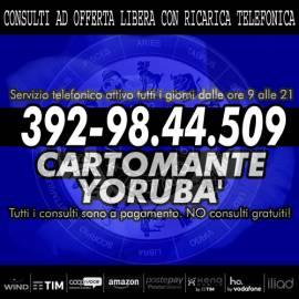 Servizio professionale telefonico di Cartomanzia con lettura dei Tarocchi [il Cartomante Yorubà]