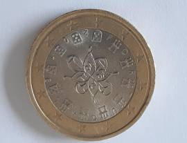 Moneta 1 euro Portogallo 2016 -