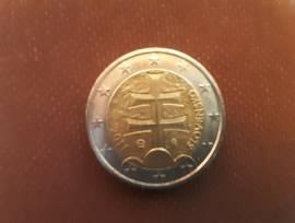 2 EURO MONETA SLOVACCHIA DEL 2011
